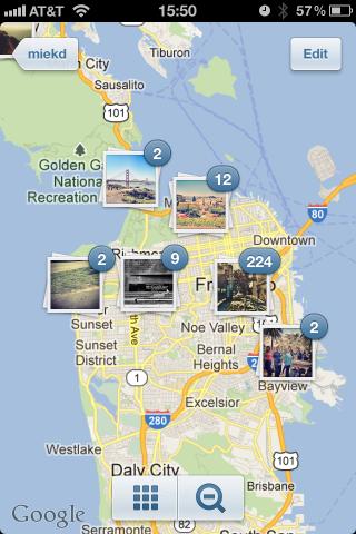 Instagram地図