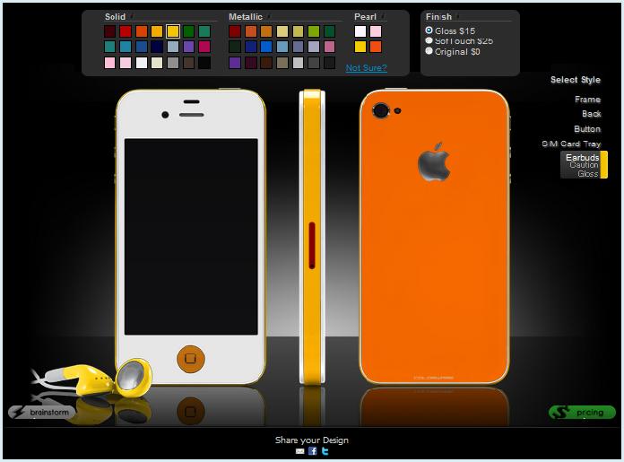 カラーリングiPhone