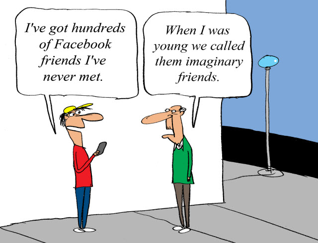 Facebookの友だち