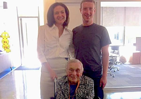 Facebook最年長ユーザー