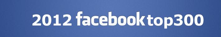 Facebook2012年ランキング