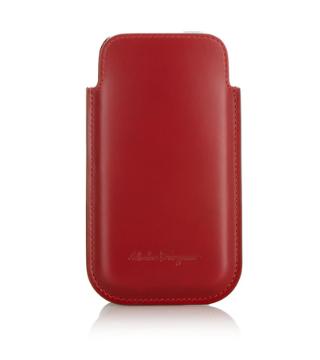 iPhone5s ケース フェラガモ 赤