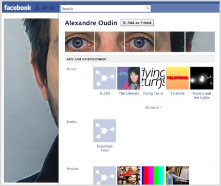 facebookページ例2