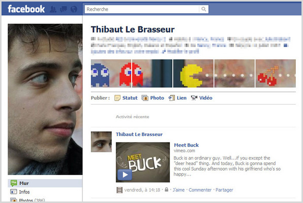 facebookページ例3