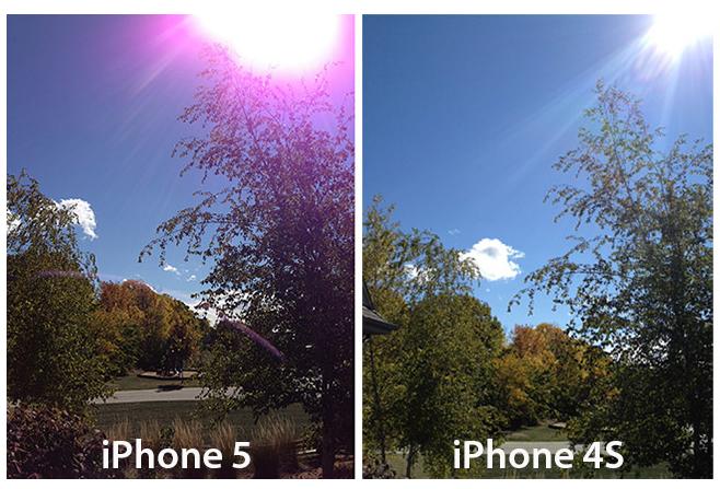 iPhone5カメラ欠陥