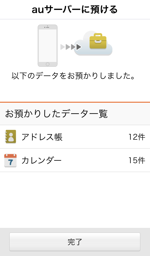 Iphone au data store 19