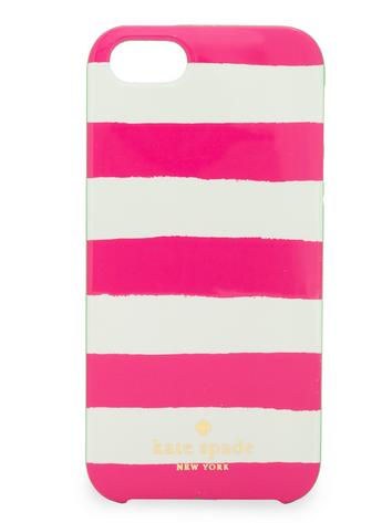 ケイトスペード iPhone5s ケース ピンクボーダー