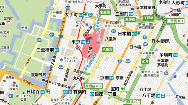 現在のグーグル・マップ