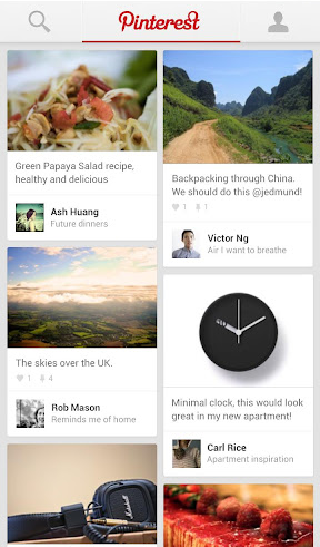 Android Pinterest