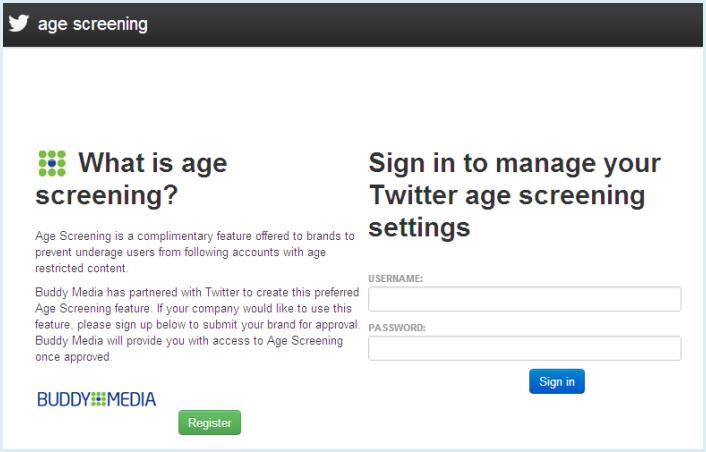 Twitter年齢制限