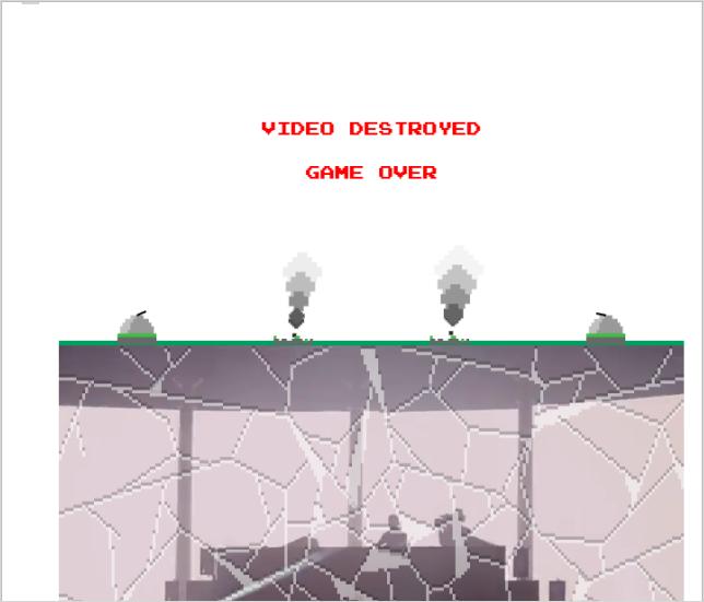YouTube ミサイルコマンド